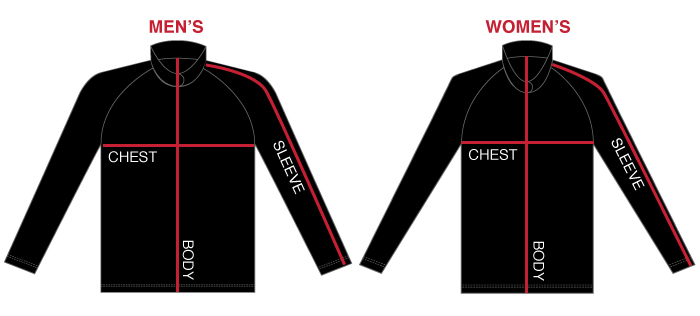 Size Chart Image - Curling Long Sleeve